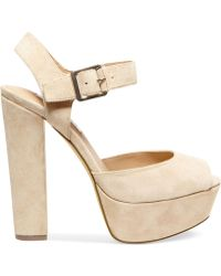 Steve Madden Jillyy Two-Piece Platform Dress Sandals - Lyst