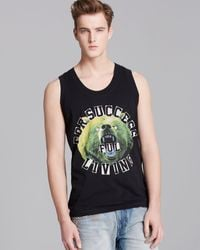 Diesel Tprince Graphic Tank - Lyst