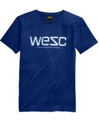 Wesc Logo Graphic T-Shirt - Lyst