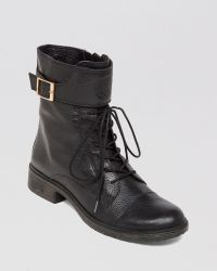 Vince Camuto Combat Boots  Taryn Lace Up - Lyst