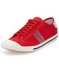 Ben Sherman Earl Stripe Canvas Sneaker - Lyst