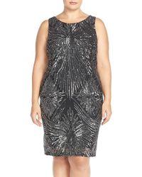 Marina | Sequined Sheath Dress | Lyst