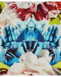 Teatum Jones - Red and Blue Karo Silk Scarf - Lyst