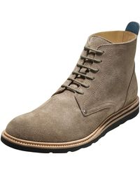 Cole Haan Christy Suede Lace-up Boot - Lyst