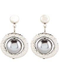 Hobbs - Leah Pearl Earring - Lyst