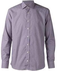 Etro Classic Shirt - Lyst