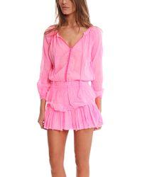 Loveshackfancy Popover Dress - Lyst