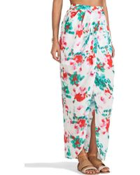 Shakuhachi - Arizona Colour Wrap Skirt - Lyst