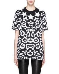 Givenchy | Star Jaguar Print Oversize T-shirt | Lyst