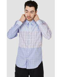 Rough & Tumble - Tri Combo Shirt Blue Stripe - Lyst
