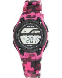 Armitron - Pro Sport Camouflage Digital Chronograph Watch - Lyst