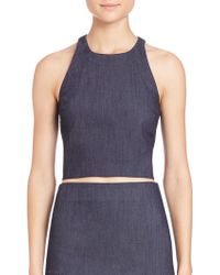 Elizabeth and James | Lupton Top | Lyst