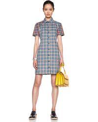 Victoria Beckham Four Pocket Shirt Dress - Lyst