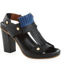 Chloé Chic Butterfly Block Heel Sandal - Lyst