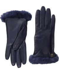 Ugg Classic Leather Smart Glove 14 - Lyst