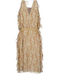 Tibi 3/4 Length Dress - Lyst