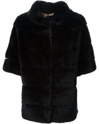 S.w.o.r.d Funnel Collar Coat - Lyst