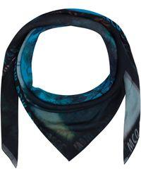 McQ by Alexander McQueen Black Haze Palm Print Scarf - Lyst