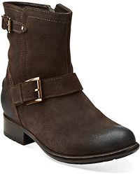 Clarks Plaza Float Boots - Lyst
