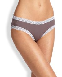 Natori Foundations - Bliss Cotton Brief - Lyst