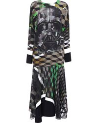 Preen By Thornton Bregazzi Vader Dress with Darth Vader - Lyst