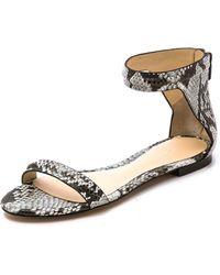 3.1 Phillip Lim Martini Flat Sandals - Celadon - Lyst