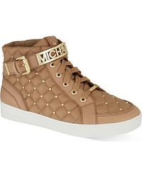 MICHAEL Michael Kors Essex High-Top Trainers - Lyst