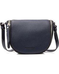 Burberry Textured Leather Shoulder Bag - Lyst