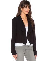 Bella Luxx - Draped-Front Jacket - Lyst