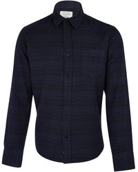 Rag & Bone Black Plaid Long Sleeve Shirt - Lyst