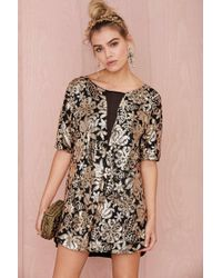 Nasty Gal Lovers and Friends Saturday Night Sequin Dress - Lyst