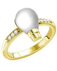 Theo Fennell | Light Bulb Ring | Lyst