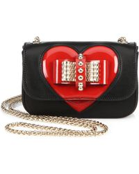 Christian Louboutin Sweety Charity Valentine Crossbody Bag - Lyst