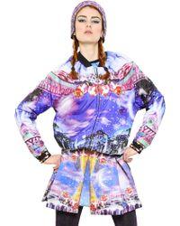 Manish Arora Candyland Printed Nylon Bomber Jacket - Lyst