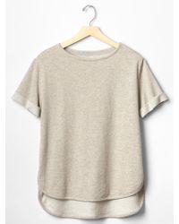 Gap Sweatshirt Top - Lyst