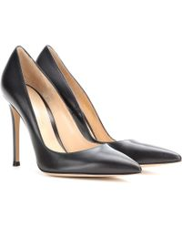 Gianvito Rossi Leather Pumps - Lyst