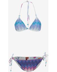 Missoni Mare Triangle String Tie Bikini - Lyst