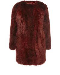 Sonia Rykiel Alpaca Fur Jacket - Lyst