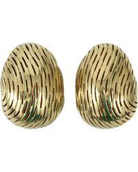 Vaubel - Ridged Ball Earrings - Lyst