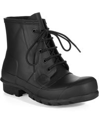 Hunter Original Lace-up Rubber Boots - Lyst