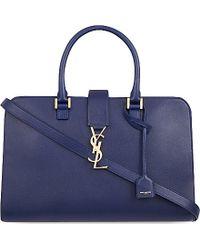 Saint Laurent Medium Cabas Over The Shoulder Handbag - For Women - Lyst