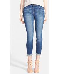 Joe's Jeans Crop Skinny Jeans - Lyst