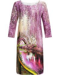 Mary Katrantzou Shift Dress Underwood - Lyst