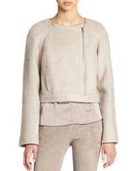 J Brand Elyn Wool Mohair Jacket - Lyst
