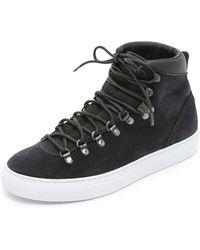 Diemme - Marostica Mid Hiker Lace Up Sneakers - Black - Lyst