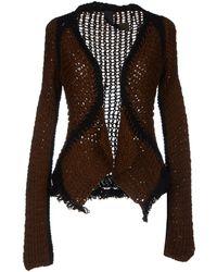 Le Moine Tricote - Cardigan - Lyst