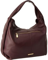 Vince Camuto Purple Chain Hobo - Lyst