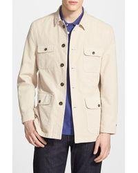 Maker & Company - 'chore' Cotton Military Coat - Lyst