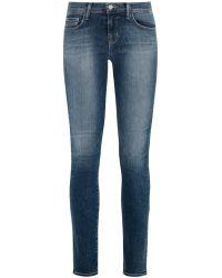 J Brand 811 Mid-Rise Skinny Jeans - Lyst