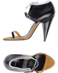 Pierre Hardy Sandals black - Lyst